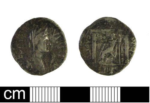 ESS-E839A8: Roman coin: denarius of Civil Wars