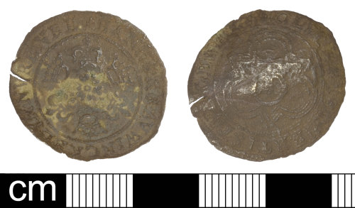SOM-2EEDC5: Post Medieval Jetton of Hanns Krauwinckel