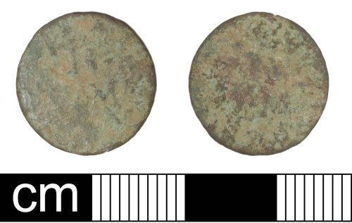 SOM-2FF1A2: Post Medieval Token