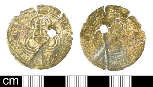 SOM-93AE21: Post Medieval Jetton