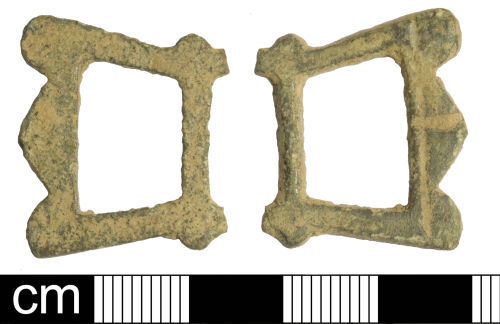 SOM-CAD002: Post Medieval Buckle