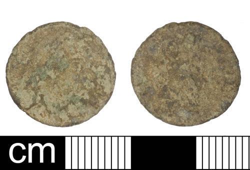 SOM-CF6110: Roman Coin: Nummus of Valens