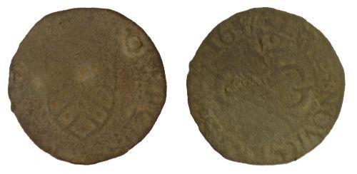 SOM-D6AF43: Post Medieval Token