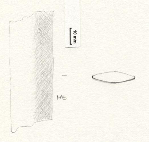 NLM1113: Sword Fragment. 1113