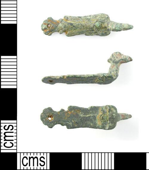 LON-387EB5: Medieval zoomorphic mount