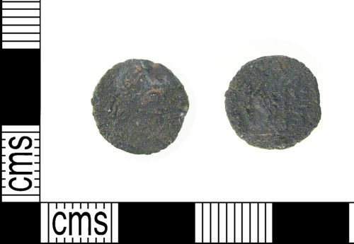 LON-2478B5: Roman copper alloy coin: nummus