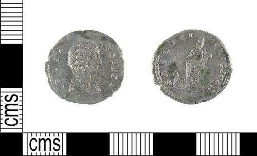 LON-8C8957: A Roman silver denarius of Julia Domna