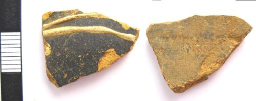 A resized image of Roman colour coated ware sherd