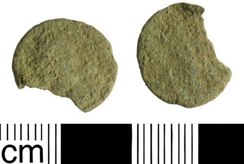 BH-367536: Roman coin: Radiate or Nummus of an unknown mid third to fourth century emperor.