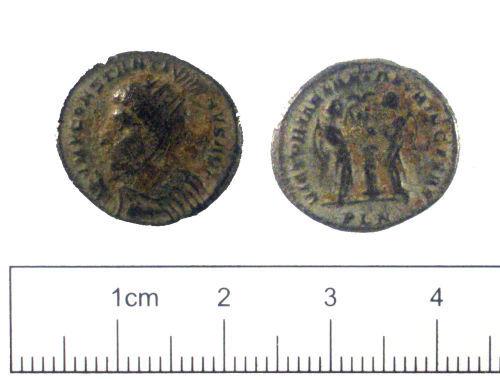 YORYM-F22872: Roman coin : Nummus of Constantine  I