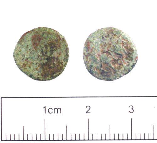 YORYM-1762D8: Roman coin : Nummus of Constantius II