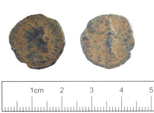 YORYM-199822: Roman coin : Radiate of Victorinus