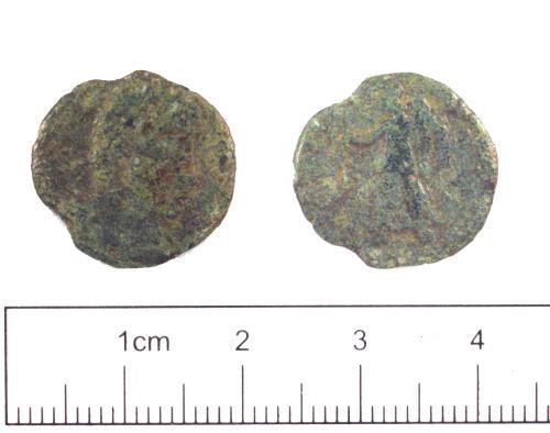 YORYM-027465: Roman coin : Nummus of Valens