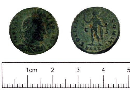 YORYM-D7AA78: Roman coin : Nummus of Constantine I