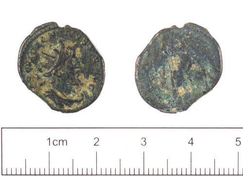 YORYM-2599C4: Roman coin : Radiate of Victorinus