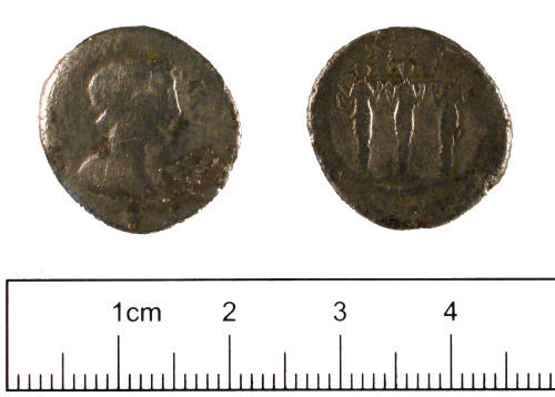 YORYM-DCC5D5: Roman coin : Republican denarius
