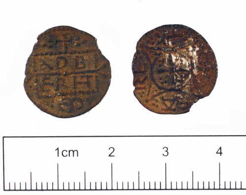 YORYM-0AF1A5: Medieval coin : Penny of Eadberht