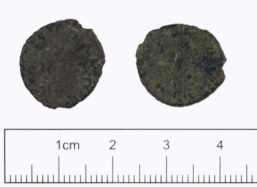 YORYM-D3AE64: Roman coin : Radiate
