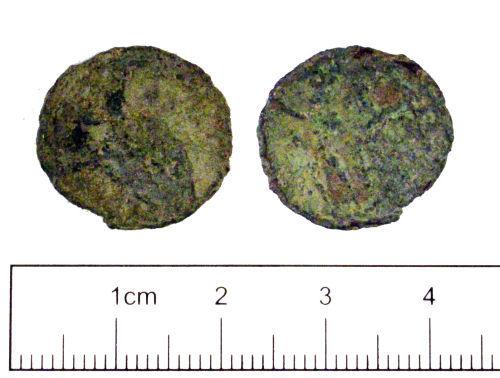 YORYM-06B2C0: Roman coin : Radiate of Victorinus