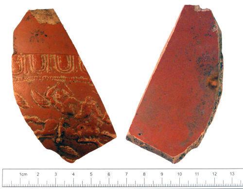 YORYM-1A2AC7: Roman : Samian vessel