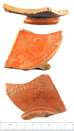 A resized image of Roman : Samian vessel