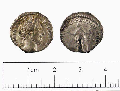 YORYM-48AFE5: Roman coin : Denarius of Commodus