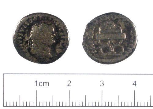 YORYM-C9F067: Roman coin : Denarius of Titus
