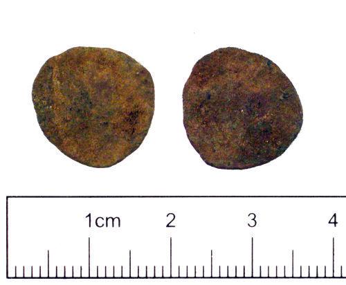 YORYM-D5C2A3: Roman coin : Barbarous radiate