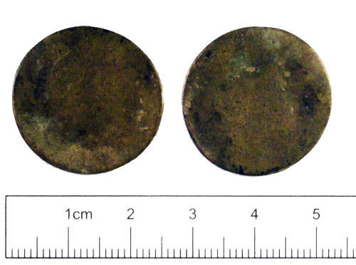 YORYM-C73545: Post-medieval coin : Farthing of William III
