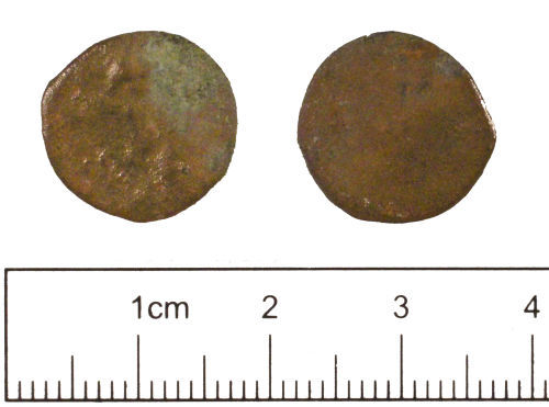YORYM-80F092: Roman coin : Radiate or nummus of an uncertain emperor