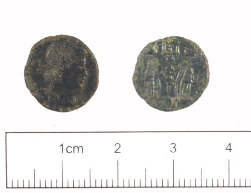 YORYM-980585: Roman coin : Nummus of the House of Constantine