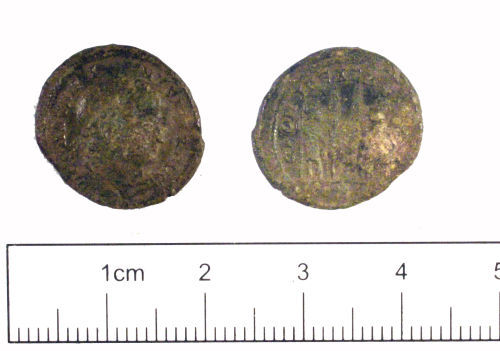 YORYM-982AA4: Roman coin : Nummus of Constantine I