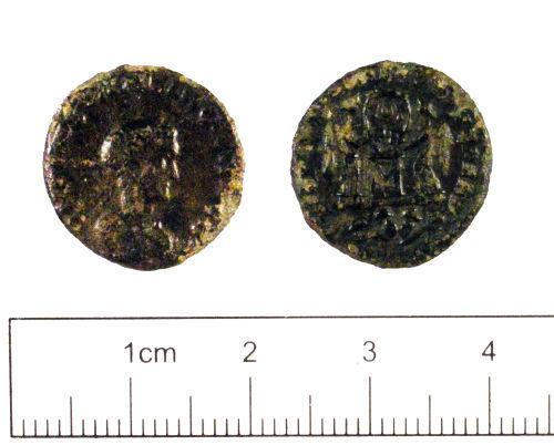 YORYM-98BF94: Roman coin : Nummus of Constantine II