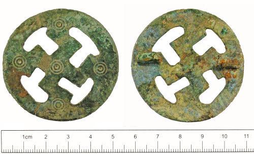 YORYM-285423: Early-medieval : Brooch
