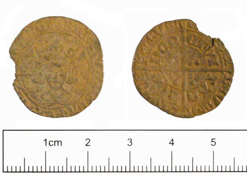 YORYM-C65C06: Medieval coin : Groat of Richard III