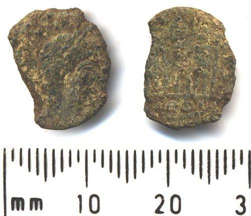 SF-3680C4: Roman coin