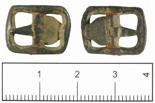 SUSS-FCC538: Post medieval shoe buckle