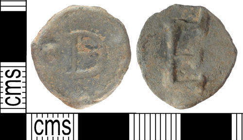 SUSS-15FF94: Post Medieval lead token