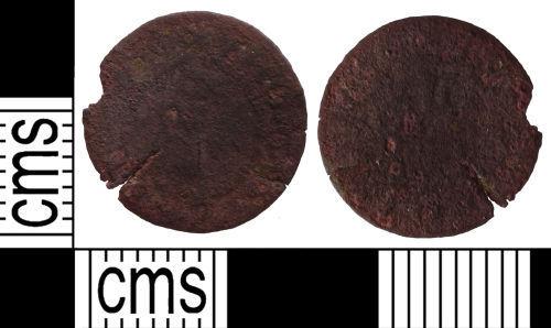 SUSS-1B8B22: Post Medieval traders token farthing