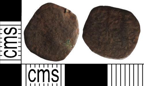 SUSS-1C9F07: Roman coin: nummus of unclear emperor