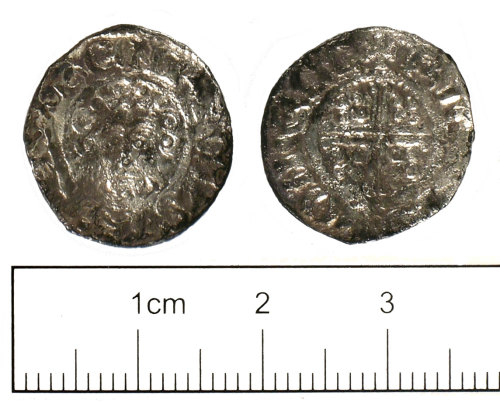 SUSS-21CC71: Medieval coin: penny of King John