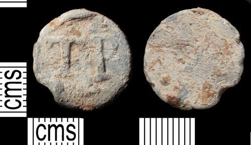SUSS-25F306: Post Medieval lead token