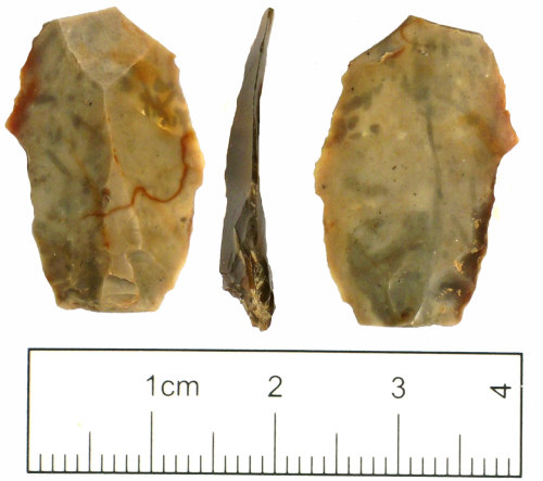 A resized image of Mesolithic - Neolithic flint flake