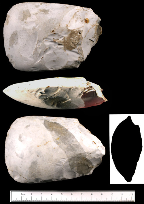 SUSS-3809E8: Neolithic polished axehead