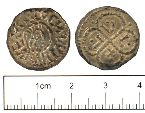 SUSS-3D4671: Early Medieval coin: Penny of Ceonwulf