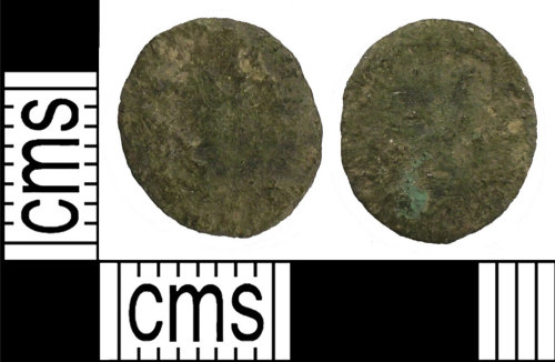 SUSS-409134: Roman coin: radiate or nummus of unclear emperor