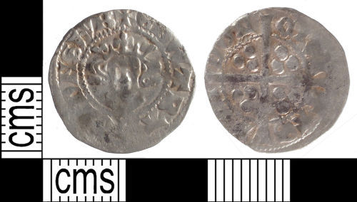 SUSS-489EC5: Medieval coin: penny of Edward I