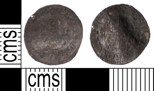 SUSS-50C9D8: Post medieval coin: penny of Charles I