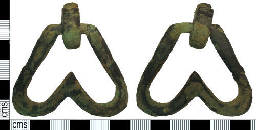 SUSS-53B740: Medieval - Post Medieval chafing dish handle