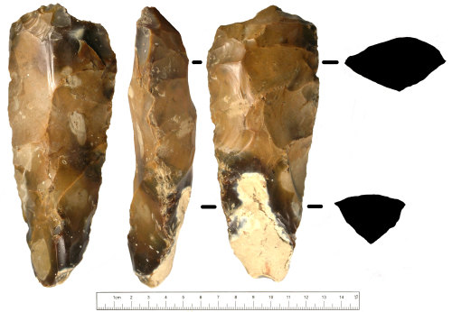 SUSS-644AA4: Mesolithic adze